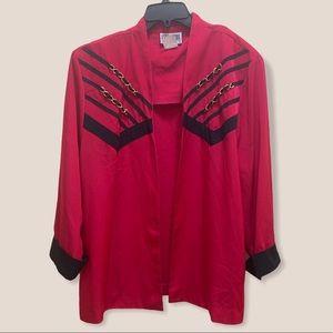 Vintage 80s city girl sport blazer